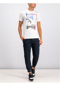 Niebieskie spodnie Armani Exchange