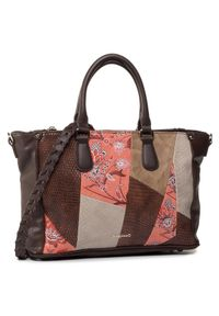 Brązowa torebka klasyczna Desigual klasyczna