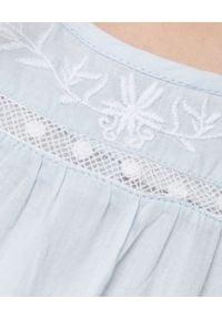 LOVE SHACK FANCY KIDS - Sukienka Audrey 3-12 lat. Kolor: biały. Materiał: bawełna, koronka, materiał. Wzór: haft, kwiaty, koronka, aplikacja. Sezon: lato #3