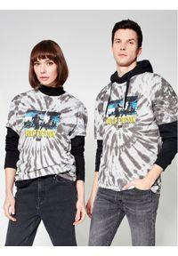 HUF T-Shirt Unisex PULP FICTION Dance Scene Tie Dye TS01310 Szary Regular Fit. Kolor: szary