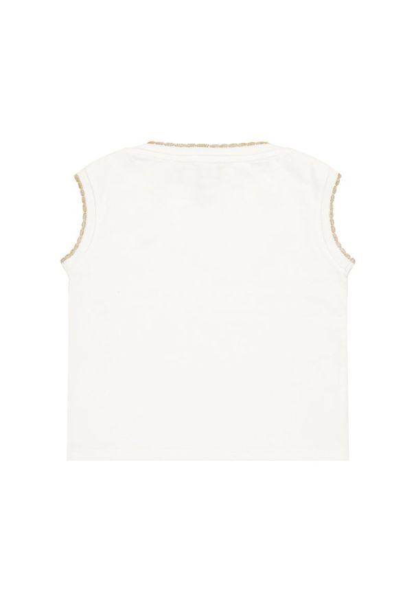 Biały top Emporio Armani