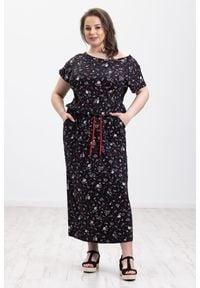 Sukienka Moda Size Plus Iwanek na co dzień, boho, oversize, na lato