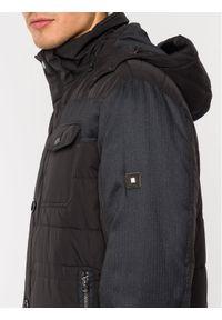 Czarna kurtka puchowa Pierre Cardin