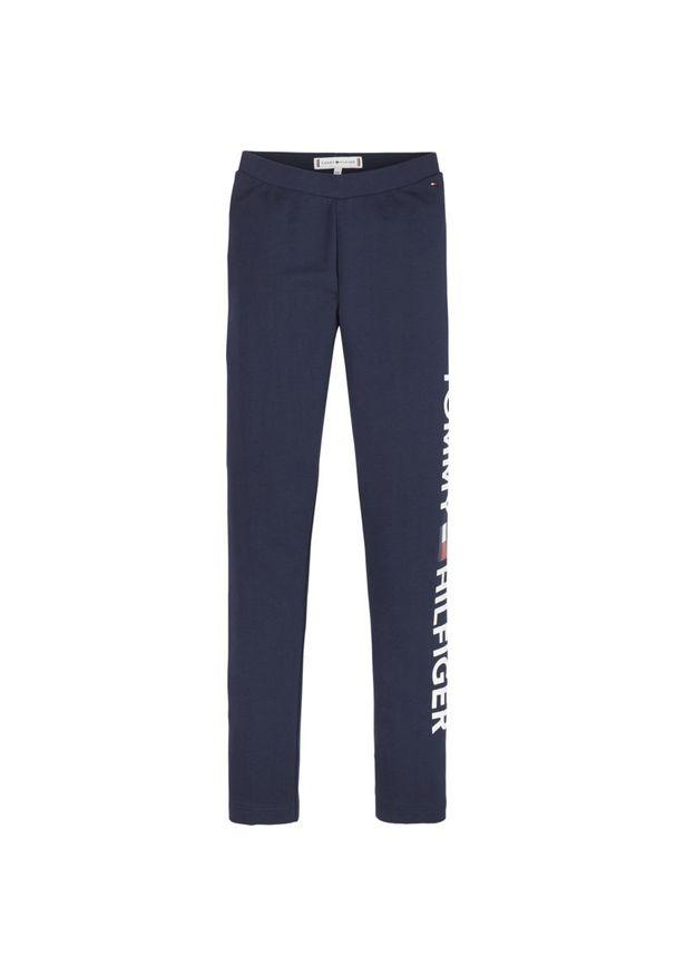 Niebieskie legginsy TOMMY HILFIGER