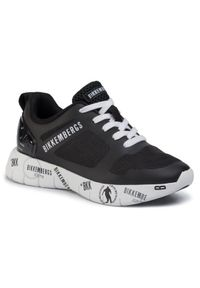 Czarne buty sportowe Bikkembergs
