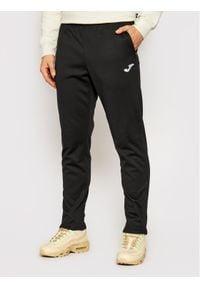 Joma Spodnie dresowe Elba 100540.100 Czarny Regular Fit. Kolor: czarny. Materiał: dresówka