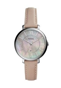 Beżowy zegarek Fossil
