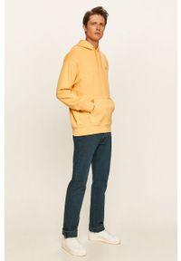 Żółta bluza nierozpinana Levi's® biznesowa, na spotkanie biznesowe, z kapturem #5