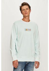Niebieska bluza nierozpinana Levi's® bez kaptura, biznesowa
