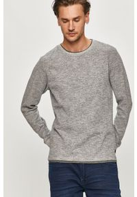 Niebieski sweter s.Oliver na co dzień, długi