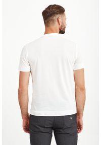T-shirt Emporio Armani elegancki, w kolorowe wzory