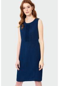 Greenpoint - Elegancka sukienka z koronką. Materiał: koronka. Wzór: koronka. Styl: elegancki