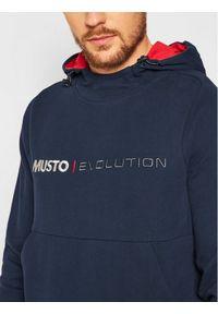 Musto Bluza Evo Logo 82043 Granatowy Regular Fit. Kolor: niebieski #3