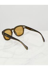 CELINE - Okulary przeciwsłoneczne. Kolor: zielony