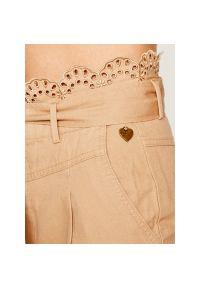 Beżowe spodnie TwinSet