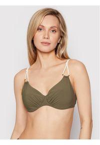 Chantelle Góra od bikini Glory C15H10 Zielony. Kolor: zielony