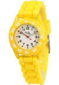 Żółty zegarek Knock Nocky sportowy