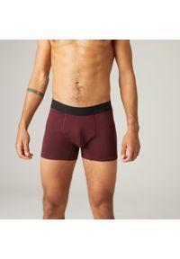 NYAMBA - Spodenki fitness. Kolor: czerwony. Materiał: poliester, elastan, bawełna, materiał. Sport: fitness
