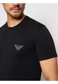 Czarny podkoszulek Emporio Armani Underwear