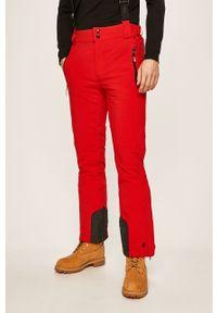 Czerwone spodnie Killtec na co dzień, casualowe