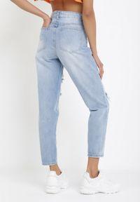Niebieskie jeansy Born2be #6