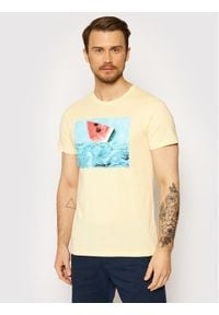 Jack & Jones - Jack&Jones T-Shirt Summer 12182333 Żółty Regular Fit. Kolor: żółty
