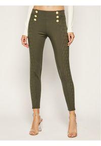 Zielone spodnie materiałowe The Kooples