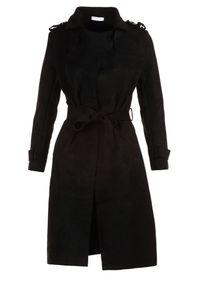 Renee - Czarny Płaszcz Usinlenne. Kolor: czarny