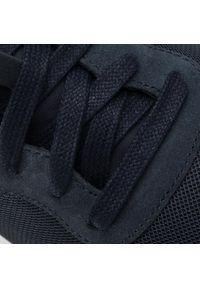 Sneakersy BOSS - Parkour 50433661 10214574 01 Dark Blue 402. Okazja: na co dzień. Kolor: niebieski. Materiał: zamsz, materiał, skóra. Szerokość cholewki: normalna. Styl: casual, elegancki, sportowy