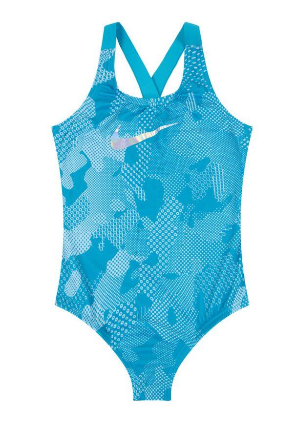 Niebieski strój kąpielowy Nike
