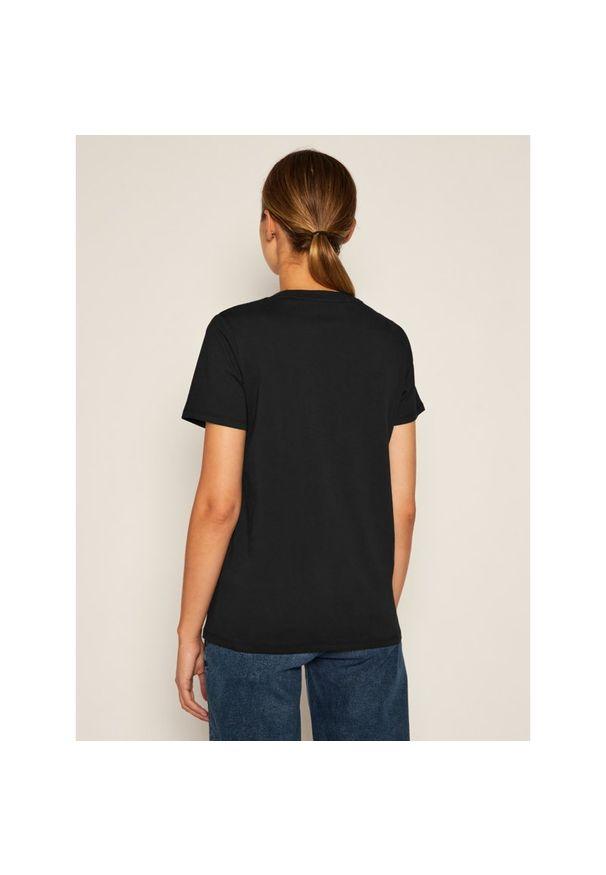Czarny t-shirt Pepe Jeans