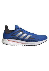 Adidas - Buty męskie do biegania adidas Solar Glide 3 FY0363. Zapięcie: sznurówki. Materiał: materiał, guma. Szerokość cholewki: normalna. Sport: fitness, bieganie