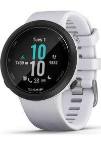 GARMIN - Zegarek sportowy Garmin Swim 2 Biały (010-02247-11). Kolor: biały. Styl: sportowy