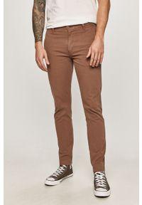 Brązowe spodnie Levi's® na spotkanie biznesowe, biznesowe