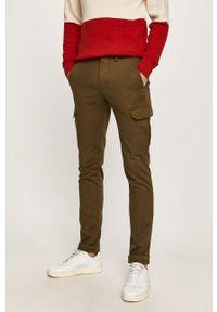 Oliwkowe spodnie TOMMY HILFIGER