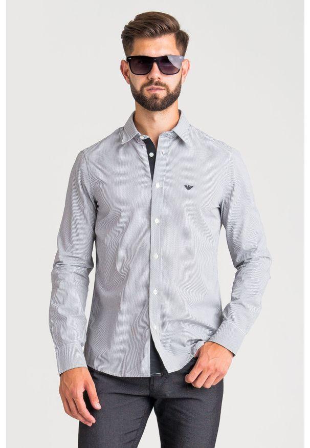 Koszula Emporio Armani biznesowa, na lato