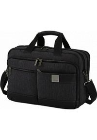 Czarna torba na laptopa TITAN