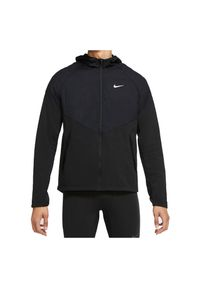 Kurtka męska Nike Therma Essential CV2238. Typ kołnierza: kaptur. Materiał: tkanina, poliester, materiał. Długość rękawa: raglanowy rękaw. Sport: fitness
