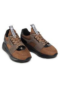 Brązowe sneakersy Togoshi
