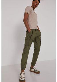 medicine - Medicine - Spodnie Modern Africa. Okazja: na co dzień. Kolor: zielony. Materiał: bawełna, materiał. Styl: casual