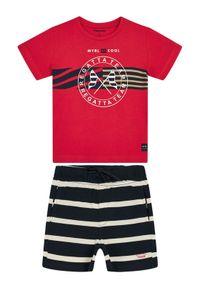 T-shirt Mayoral sportowy, w kolorowe wzory