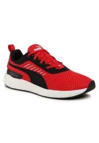 Czerwone buty do biegania Puma z cholewką