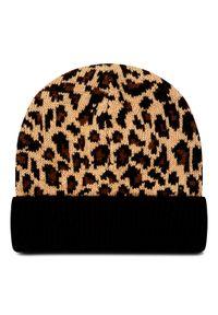 Brązowa czapka zimowa DC