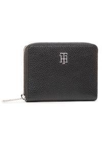 Czarny portfel TOMMY HILFIGER