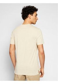 Only & Sons - ONLY & SONS T-Shirt Dilan 22018634 Beżowy Slim Fit. Kolor: beżowy