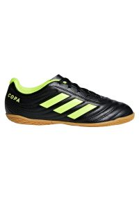 Adidas - Buty adidas Copa 19.4 IN Jr D98095. Materiał: skóra, guma, syntetyk. Szerokość cholewki: normalna. Sport: fitness