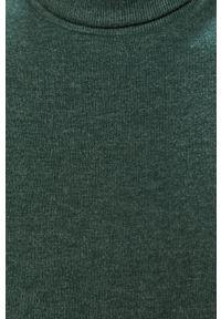 Only & Sons - Sweter. Okazja: na co dzień. Typ kołnierza: golf. Kolor: zielony. Materiał: dzianina. Długość rękawa: długi rękaw. Długość: długie. Styl: casual