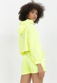 Born2be - Żółty 2-Częściowy Komplet Dresowy Sagosia. Kolor: żółty. Materiał: dresówka #5