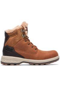 Jack Wolfskin - Trekkingi JACK WOLFSKIN - Jack Wt Mid W 4043501 Cognac/Mocca. Kolor: brązowy. Materiał: skóra, nubuk. Szerokość cholewki: normalna