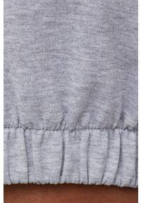 Answear Lab - Dres bawełniany. Kolor: szary. Materiał: bawełna, dresówka